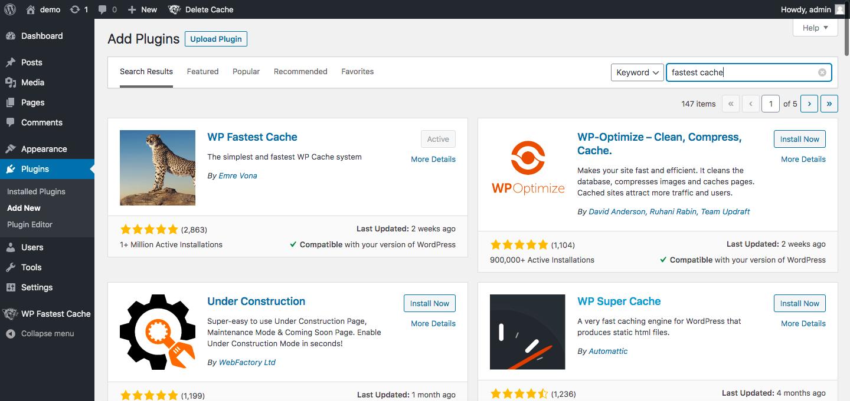 Accelerate Wordpress with PUSHR CDN - Step 1