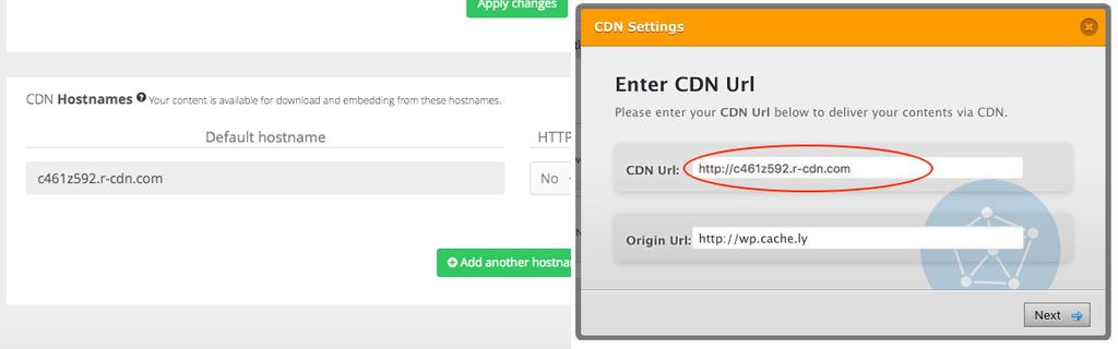 Accelerate Wordpress with PUSHR CDN - Step 4